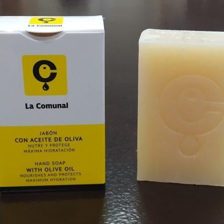 Cosméticos naturales - Jabón con Aceite de Oliva
