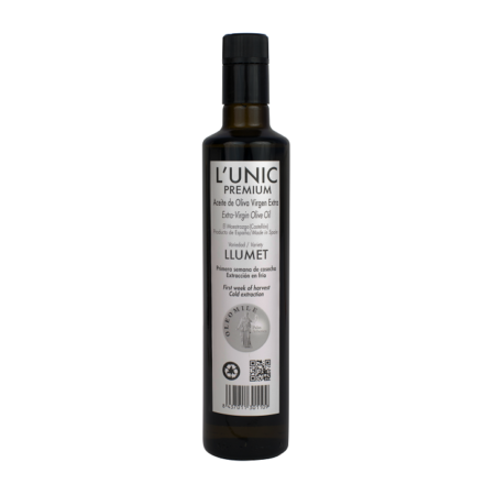 L'Unic - Llumet - Aceite de oliva virgen extra 500ml