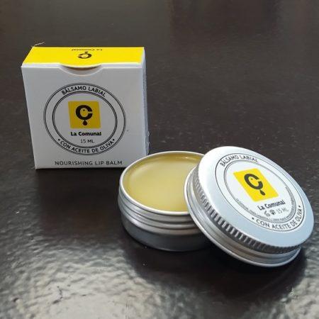 Cosméticos naturales - Bálsamo labial con Aceite de Oliva