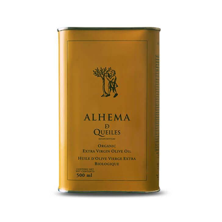 Alhema de Queiles - Arbequina - Ecológico - Aceite de oliva virgen extra 500 ml