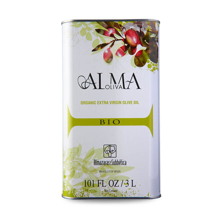 AlmaOliva - Coupage - Ecológico - Aceite de oliva virgen extra 3 litros