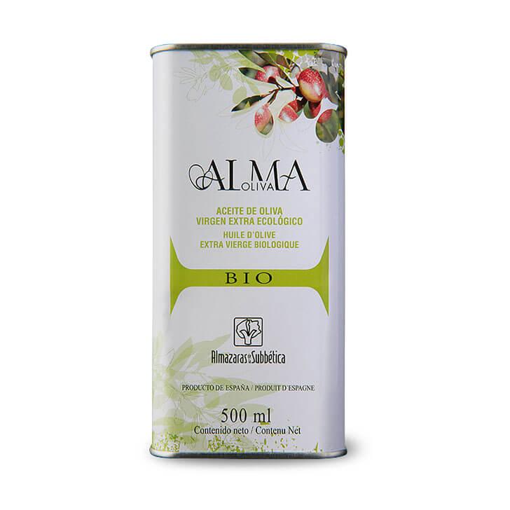 AlmaOliva - Coupage - Ecológico - Aceite de oliva virgen extra 500 ml