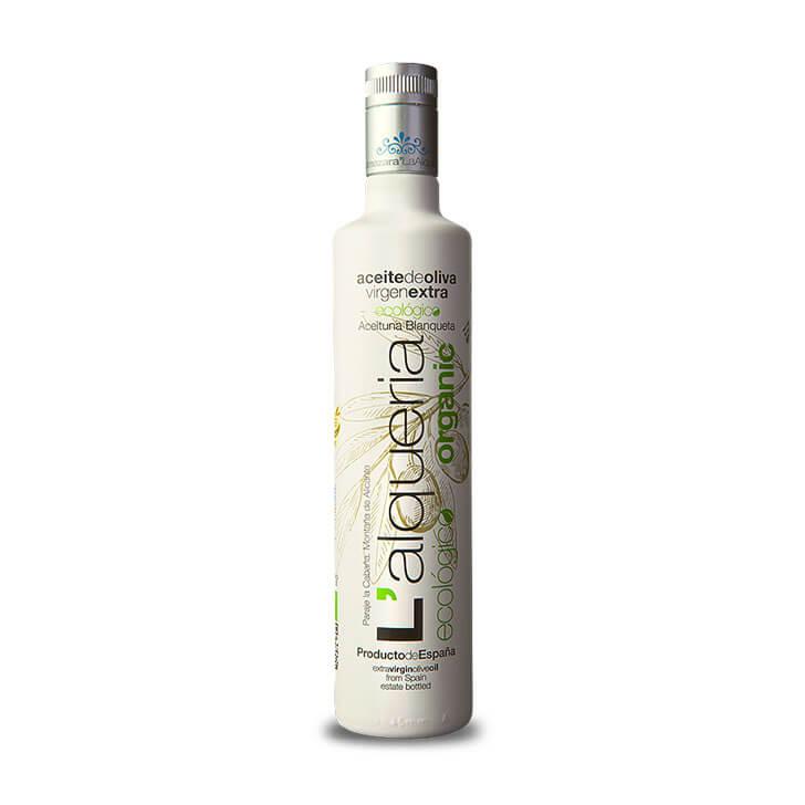 L'Alquería - Blanqueta - Ecológico - Aceite de oliva virgen extra 500 ml