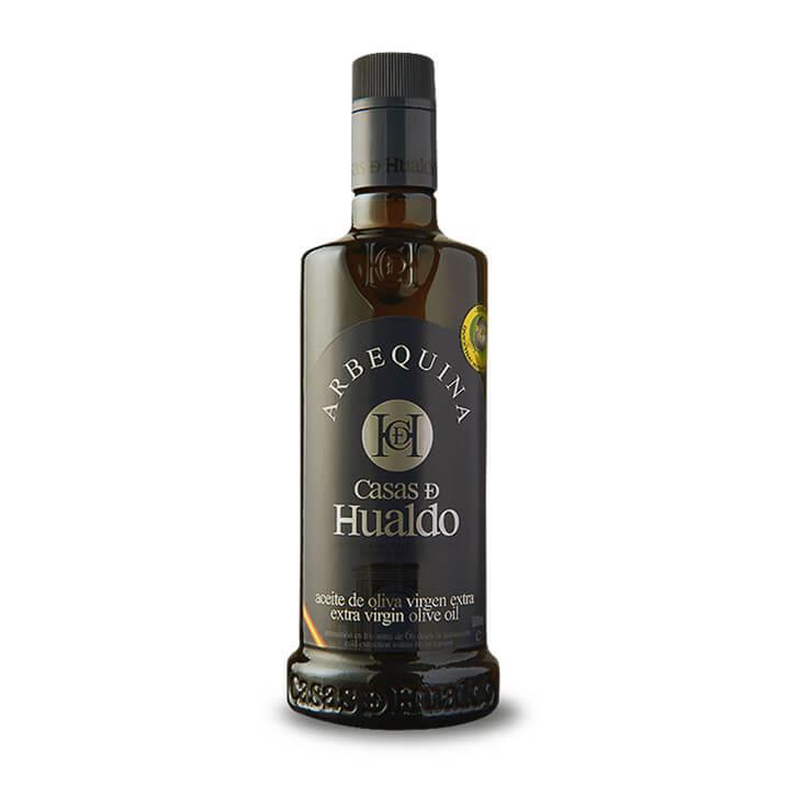 Casas de Hualdo - Arbequina - Aceite de oliva virgen extra 500 ml