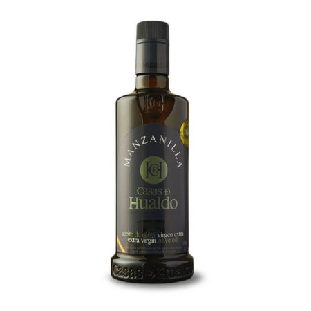 Casas de Hualdo - Manzanilla Cacereña - Aceite de oliva virgen extra 500 ml