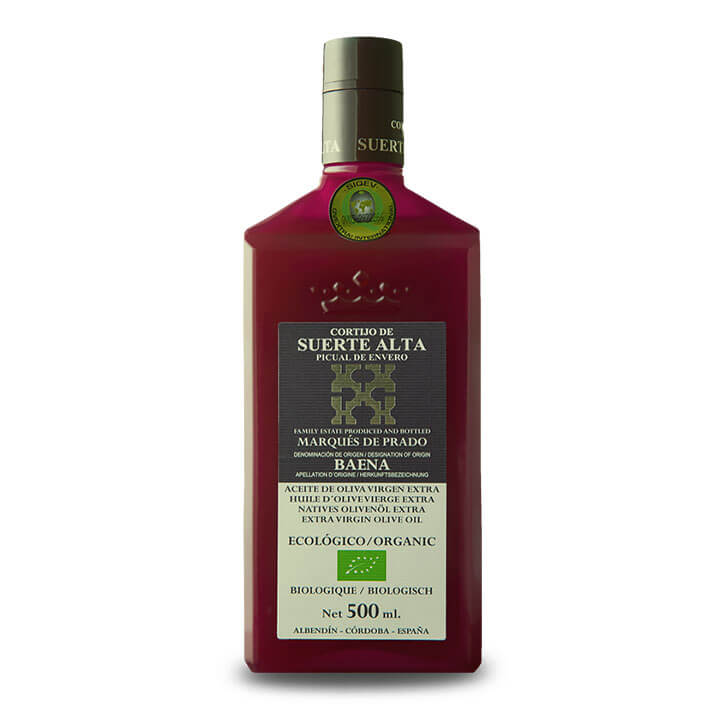 Cortijo Suerte Alta - Picual - Aceite de oliva virgen extra 500 ml