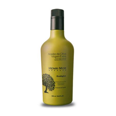 Henri Mor - Arbequina - Ecológico - Aceite de oliva virgen extra 500 ml