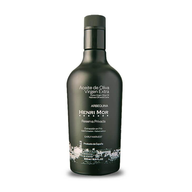 Henri Mor - Arbequina - Aceite de oliva virgen extra 500 ml