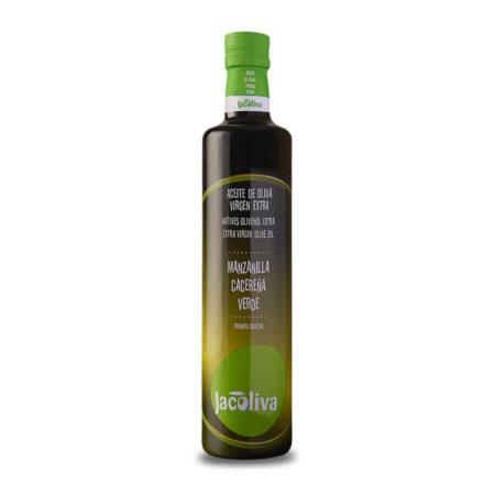 Jacoliva - Manzanilla Cacereña - Aceite de oliva virgen extra 500 ml