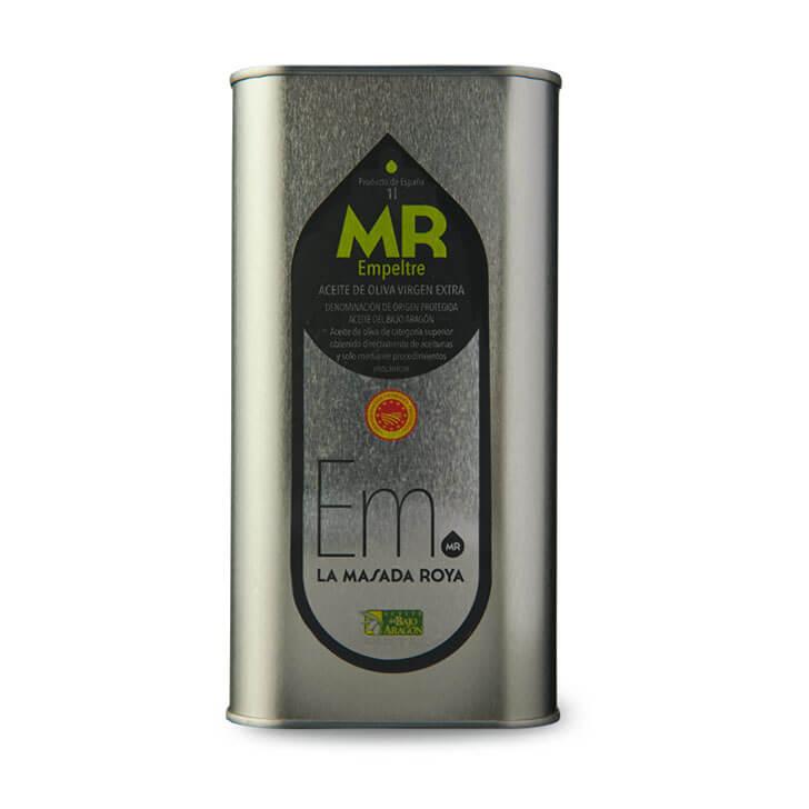 La Masada Roya - Empeltre - Aceite de oliva virgen extra 1 litro
