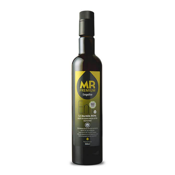 La Masada Roya - Premium - Empeltre - Aceite de oliva virgen extra 500 ml