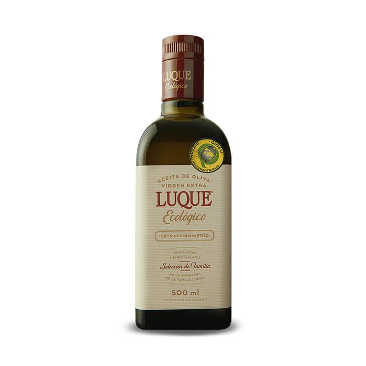 Luque - Picual - Ecológico - Aceite de oliva virgen extra 500 ml