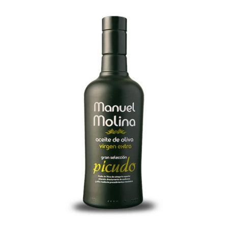 Manuel Molina - Gran Selección - Picudo - Aceite de oliva virgen extra 1 x 500 ml