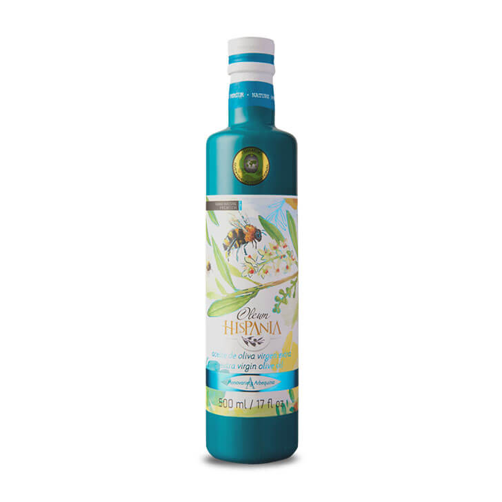 Oleum Hispania - Arbequina - Aceite de oliva virgen extra 500 ml