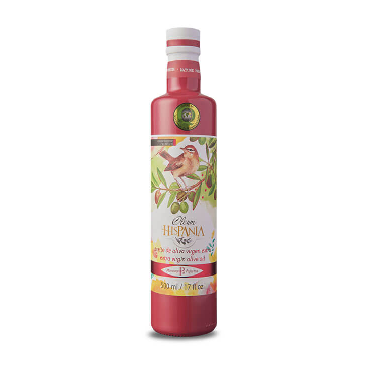 Oleumhispania - Pajarero - Aceite de oliva virgen extra 500 ml