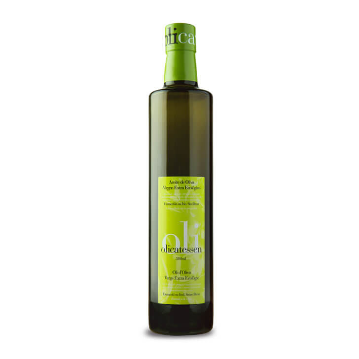 Olicatessen - Arbequina - Ecológico - Aceite de oliva virgen extra 500 ml