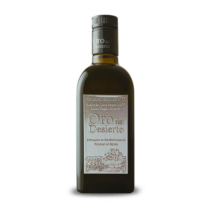 Oro del Desierto - Picual - Ecológico - Aceite de oliva virgen extra 500 ml