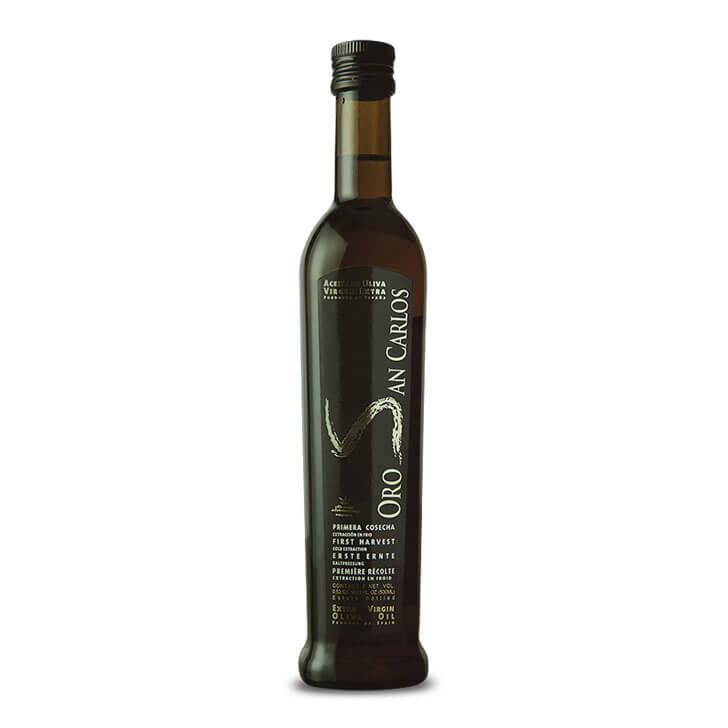 Oro San Carlos - Arbequina - Aceite de oliva virgen extra 500 ml