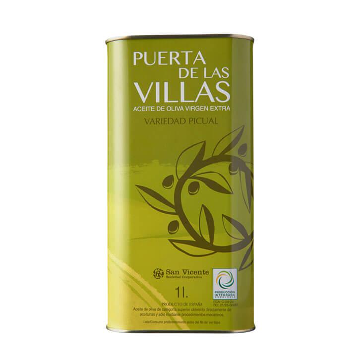 Puerta de Las Villas - Puerta Las Villas - Picual - Aceite de oliva virgen extra 1 litro
