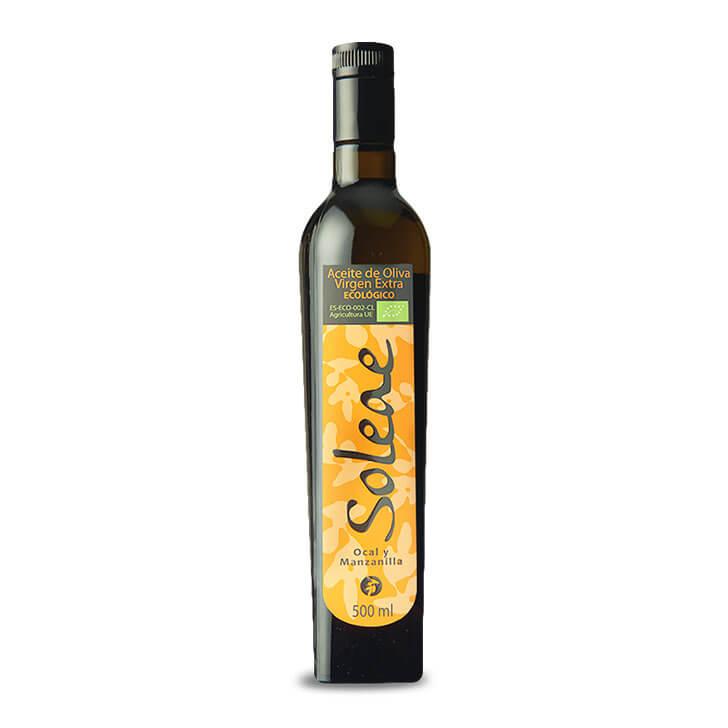 Soleae - Manzanilla Cacereña - Aceite de oliva virgen extra 500 ml