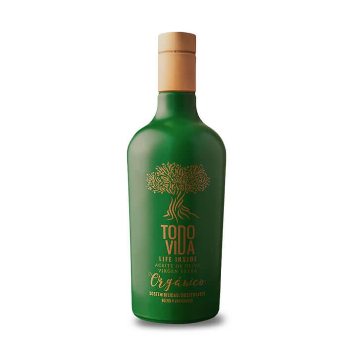 Todo Vida - Life Inside Sostenibilidad - Coupage - Ecológico - Aceite de oliva virgen extra 500 ml