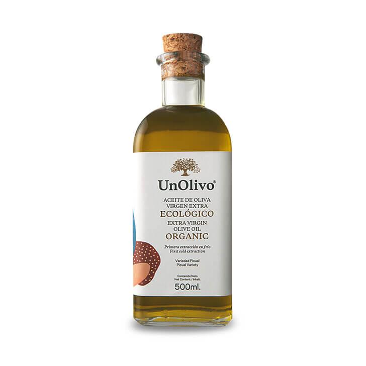 UnOlivo - Picual - Aceite de oliva virgen extra 1 x 500 ml