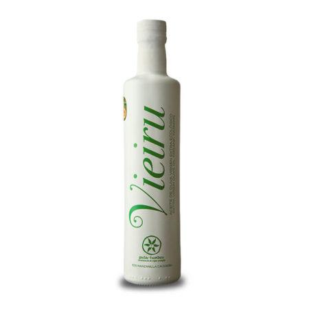 Vieiru - Manzanilla Cacereña - Ecológico - Aceite de oliva virgen extra 500 ml