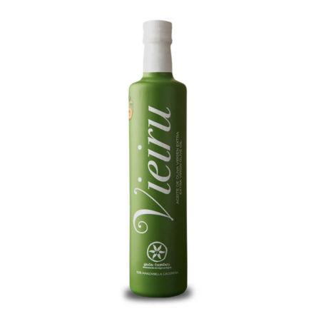 Vieiru - Manzanilla Cacereña - Aceite de oliva virgen extra 500 ml