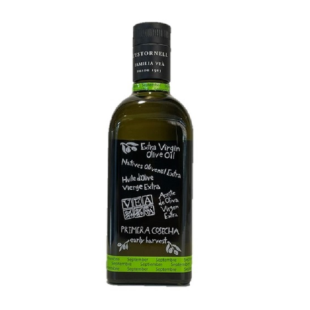 Vea - Primera Cosecha - Arbequina - Aceite de oliva virgen extra 500 ml