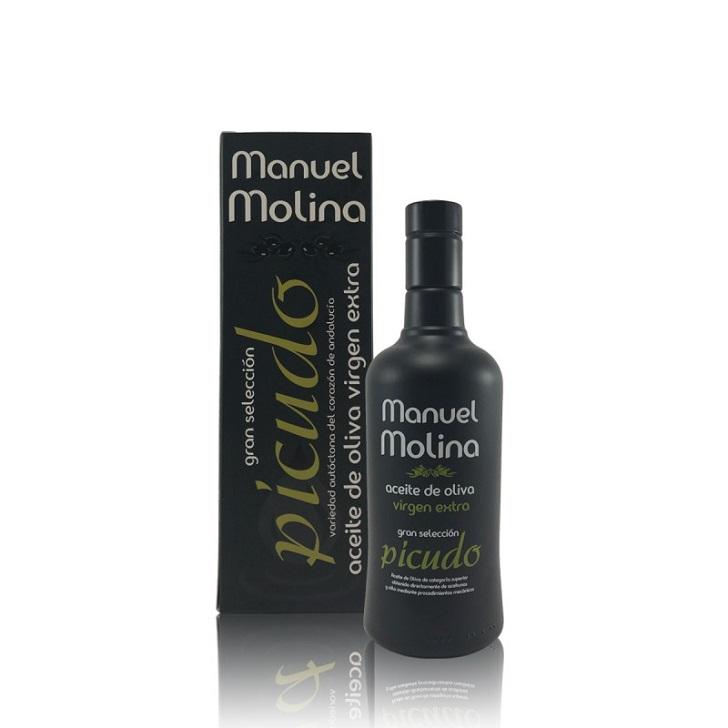 Manuel Molina - Gran Selección - Picudo - Biodinámico - Aceite de oliva virgen extra 1 x 500 ml
