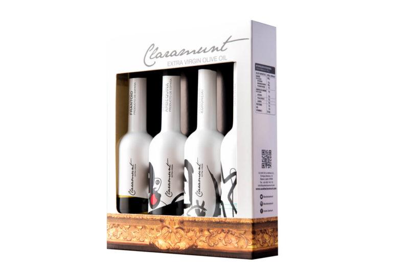 Claramunt - Degustación - Aceite de oliva virgen extra 4 x 100 ml