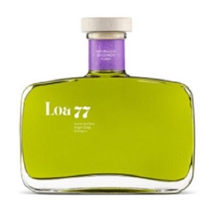 Loa 77 - Picual - Hojiblanca - Ecológico - Aceite de oliva virgen extra 1x500 ml.