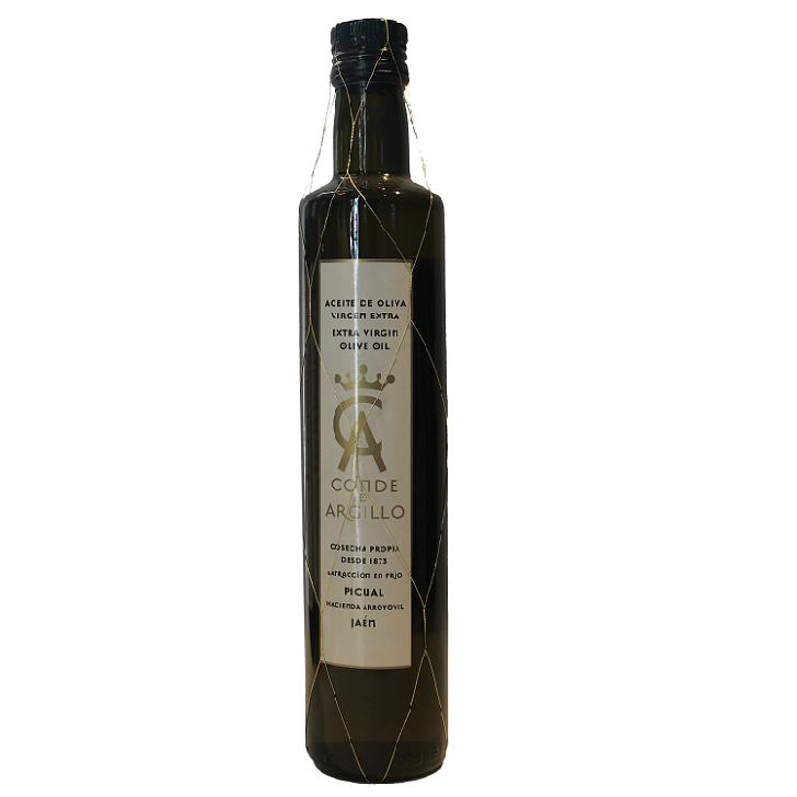 Conde de Argillo - Picual - Aceite de oliva virgen extra 500 ml