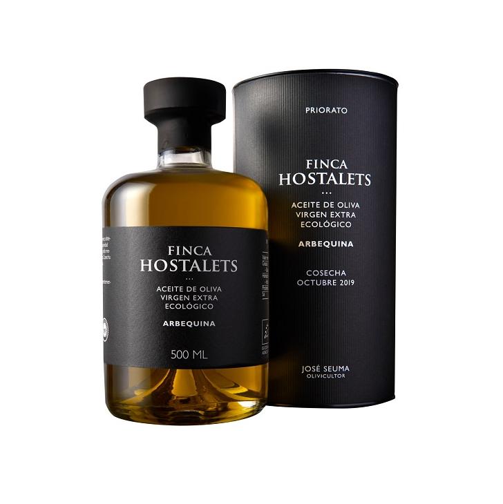Finca Hostalets - Arbequina - Ecológico - Aceite de oliva virgen extra 1 x 500 ml