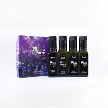 Finca La Torre - Degustación - Demeter - Ecológico - Aceite de Oliva Virgen Extra - 4 x 100 ml