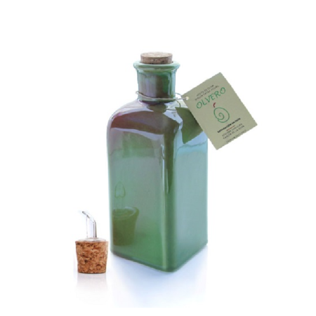Olvero - Empeltre - Cerámica - Aceite de oliva virgen extra 500 ml
