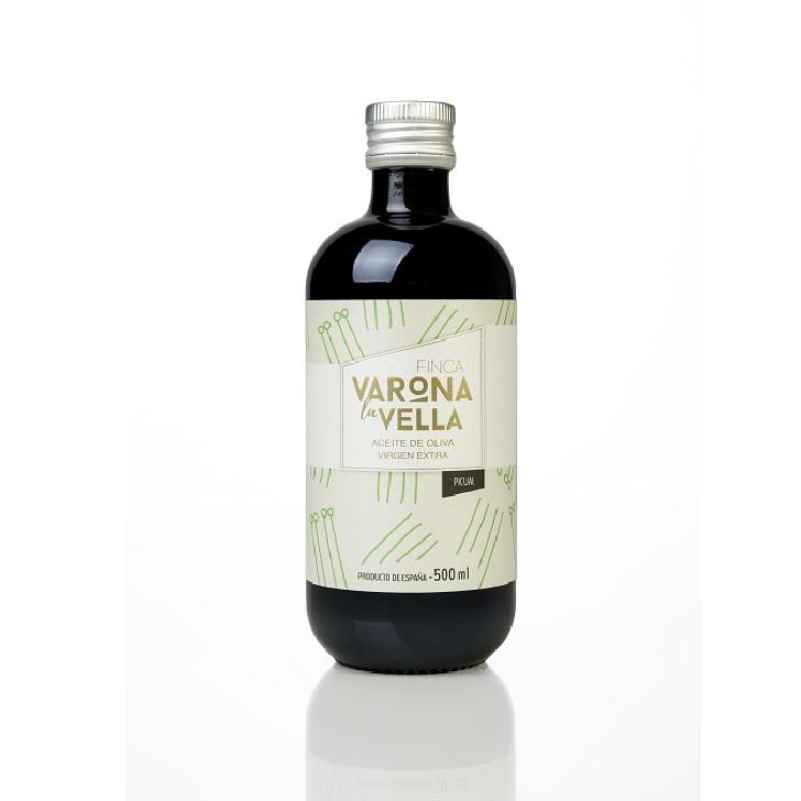 Finca Varona la Vella - Picual - Aceite de oliva virgen extra 500 ml