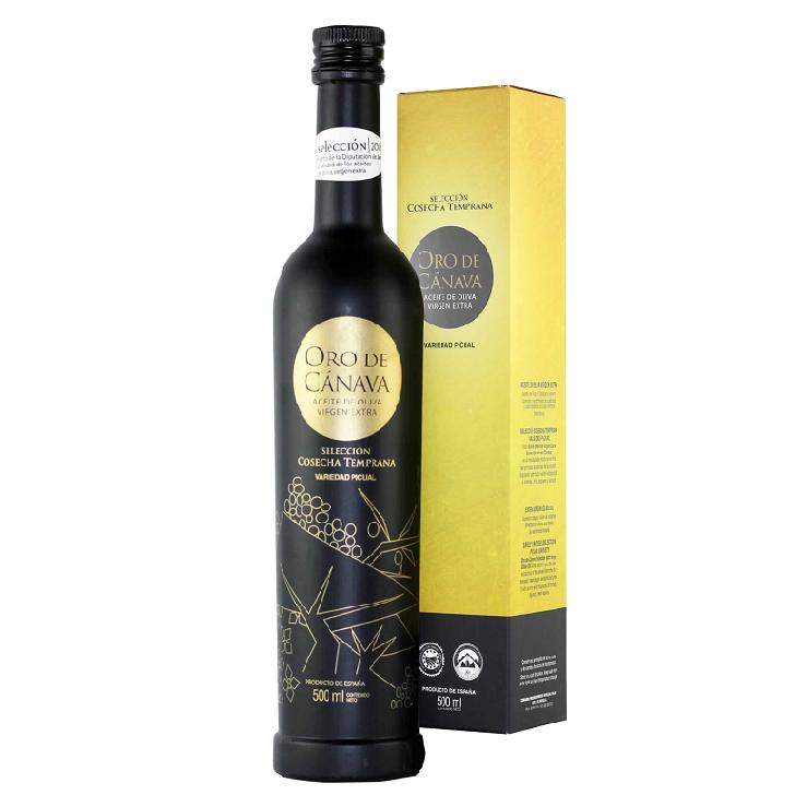 Oro de Cánava- Picual - Aceite de oliva virgen extra 1 x 500 ml