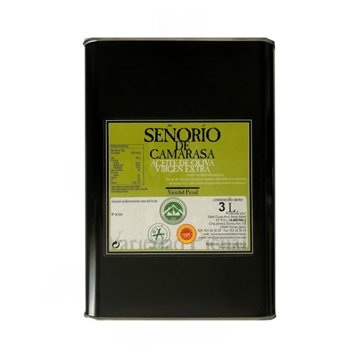 Señorío de Camarasa - Picual - Aceite de oliva virgen extra 3 litros