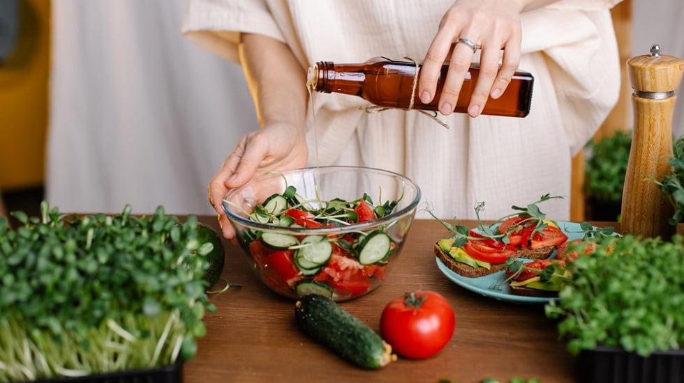 aceites para ensaladas